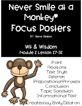 Wit and Wisdom  Never Smile at a Monkey Focus Posters