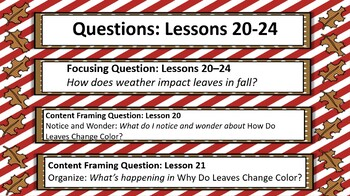 Wit and Wisdom Questions and Vocabulary (2nd Grade, Module 1, Lessons 20-24)