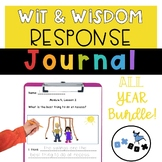 Wit and Wisdom Response Journal Kindergarten All Year BUNDLE!