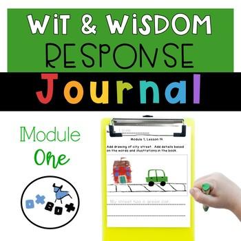 Wit and Wisdom Response Journal Kindergarten Module 1