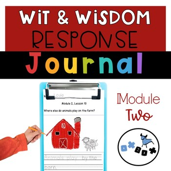 Wit and Wisdom Response Journal Kindergarten Module 2