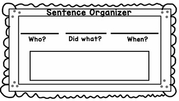 Wit and Wisdom Sentence Organizer