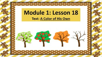 Wit and Wisdom Slideshow (2nd Grade, Module 1, Lesson 18)