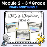 Wit and Wisdom Third Grade Module 2 Lessons 1-5 PP Bundle