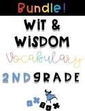 Wit and Wisdom Vocabulary BUNDLE 2nd Grade!
