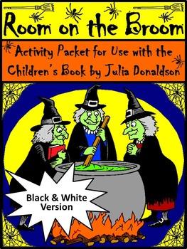 Halloween Language Arts Activities: Room on the Broom Halloween Activity Packet