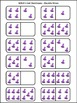 Witch Activities: Witch's Hat Dominoes Halloween Game Activity Bundle-Color&BW