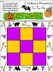 Witch Activities: Cauldrons & Broomsticks Tic-Tac-Toe Halloween Game - Color
