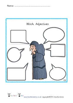 Witch Adjectives