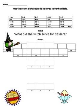 Witch Alphabet Puzzle-Alphabetical Order Practice