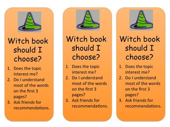 Witch Book Should I Choose Bookmark
