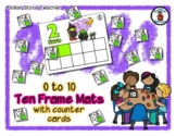 Witch Brew - Halloween Fun - Ten Frame Mats 0 to 10 & Counter Cards
