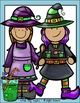 Witch, Brew, and Cauldron Clip Art Set - Chirp Graphics