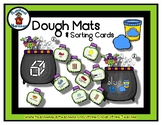 Witch & Cauldron - Play Dough Manipulative Mats - Alphabet