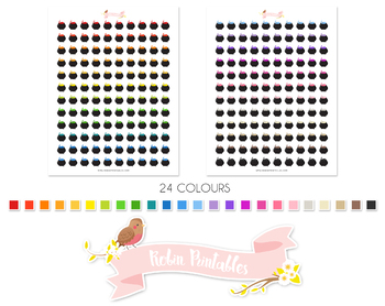 Witch Cauldron Printable Planner Stickers