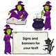 Witch Clip Art