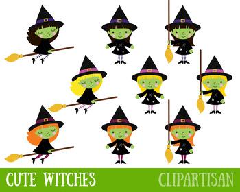 Witch Clipart   Halloween Clip Art