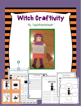 Witch Craft and Printables (A Halloween Craft)