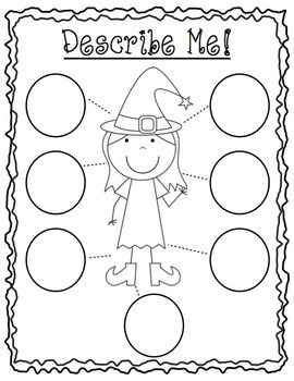 Witch Craft Activities for Speech Therapy