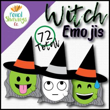 Witch Emojis   72 Total Emojis!