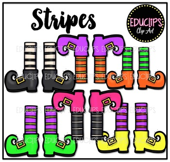 Witch Feet Clip Art Bundle {Educlips Clipart}