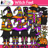 Witch Feet & Hat Clip Art: Halloween Graphics {Glitter Meets Glue}
