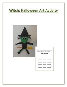 Witch: Halloween Art Activity