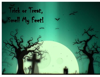 Witch Halloween Footprint Art Project Template