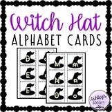Witch Hat Alphabet Cards