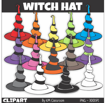 Halloween Witch Hat Clip Art