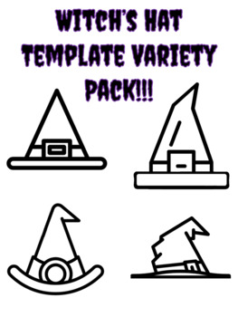 Witch Hat Template For Art Project Witch Hat Outline Halloween Witch S Hat Page
