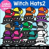 Witch Hats2- Halloween Clipart