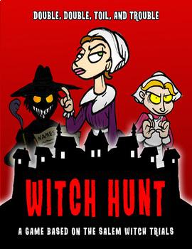 Witch Hunt:  A Salem Witch Trials Game