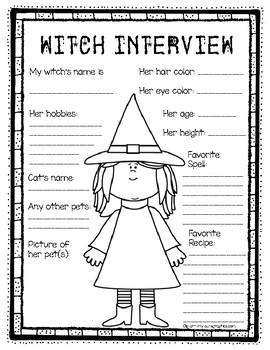 Witch Interview Form Freeebie Fun!