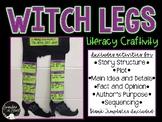 Witch Legs Literacy Craftivity!