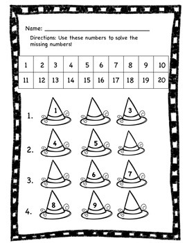 Witch Number is Missing? Differentiated
