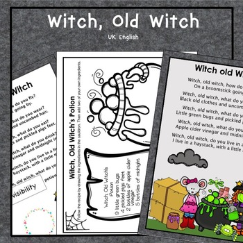Witch, Old Witch Halloween AUS UK