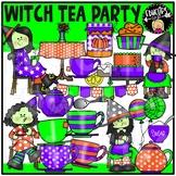 Witch Tea Party Clip Art Set {Educlips Clipart}