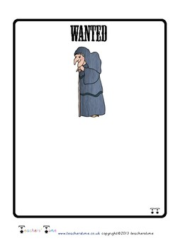 Witch Wanted Poster