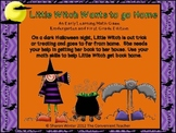 Witch Wants to go Home: A Math Addition Game for Kindergarten and 1st Grade