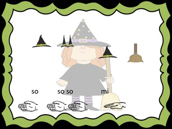 Witch, Witch: A Halloween song with mi so la
