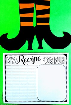Witch Writing Craft Activity