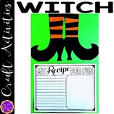 Witch Craft with Writing Activity