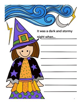 Witch Writing Prompt Printable