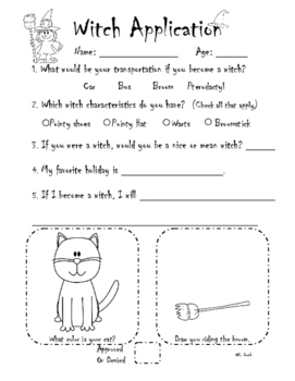 Witch and Ghost Halloween Applications