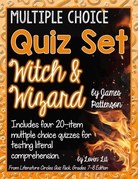 Witch and Wizard Quiz Set