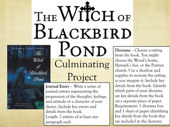 Witch of Blackbird Pond Choice-Based Project