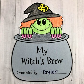 Witch's Brew: A writing and art activity