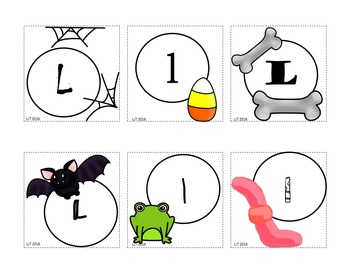 Witch's Brew: Alphabet Matching Activity