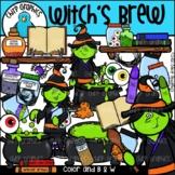 Witch's Brew Clip Art Set